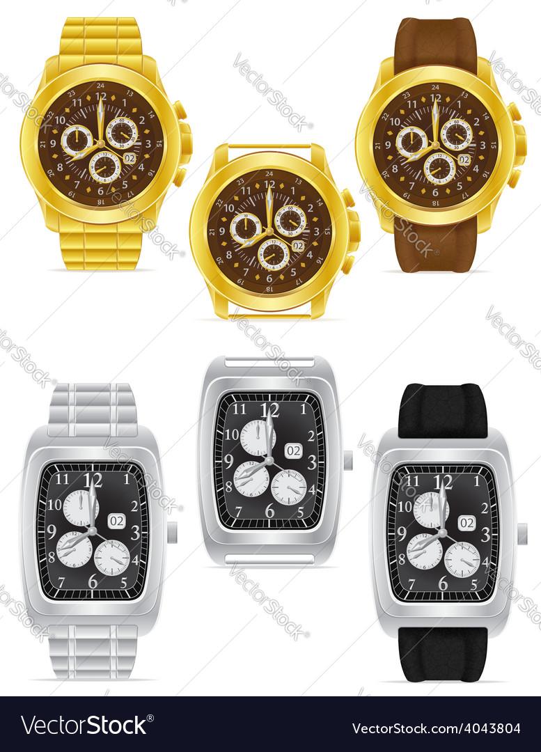 Wristwatch 09 vector | Price: 1 Credit (USD $1)