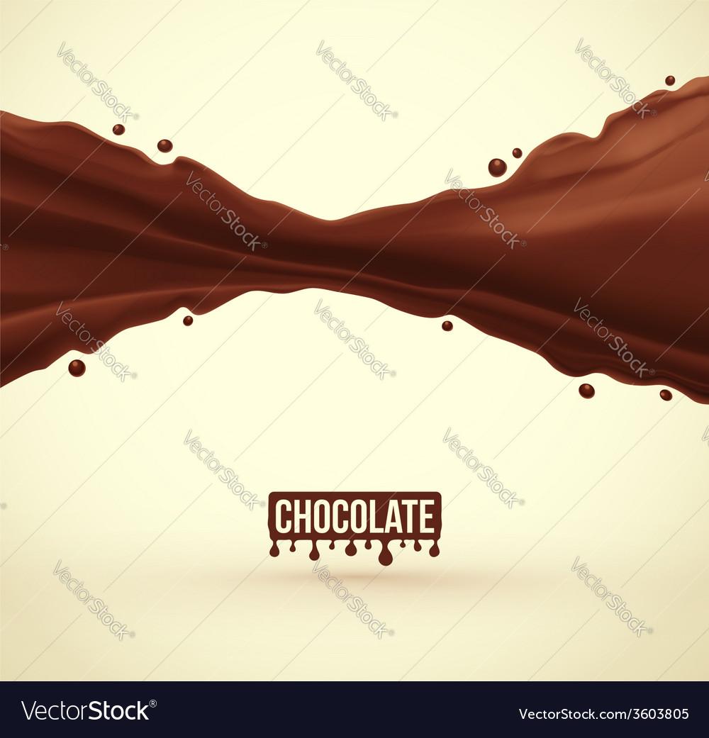 Chocolate splash vector   Price: 1 Credit (USD $1)