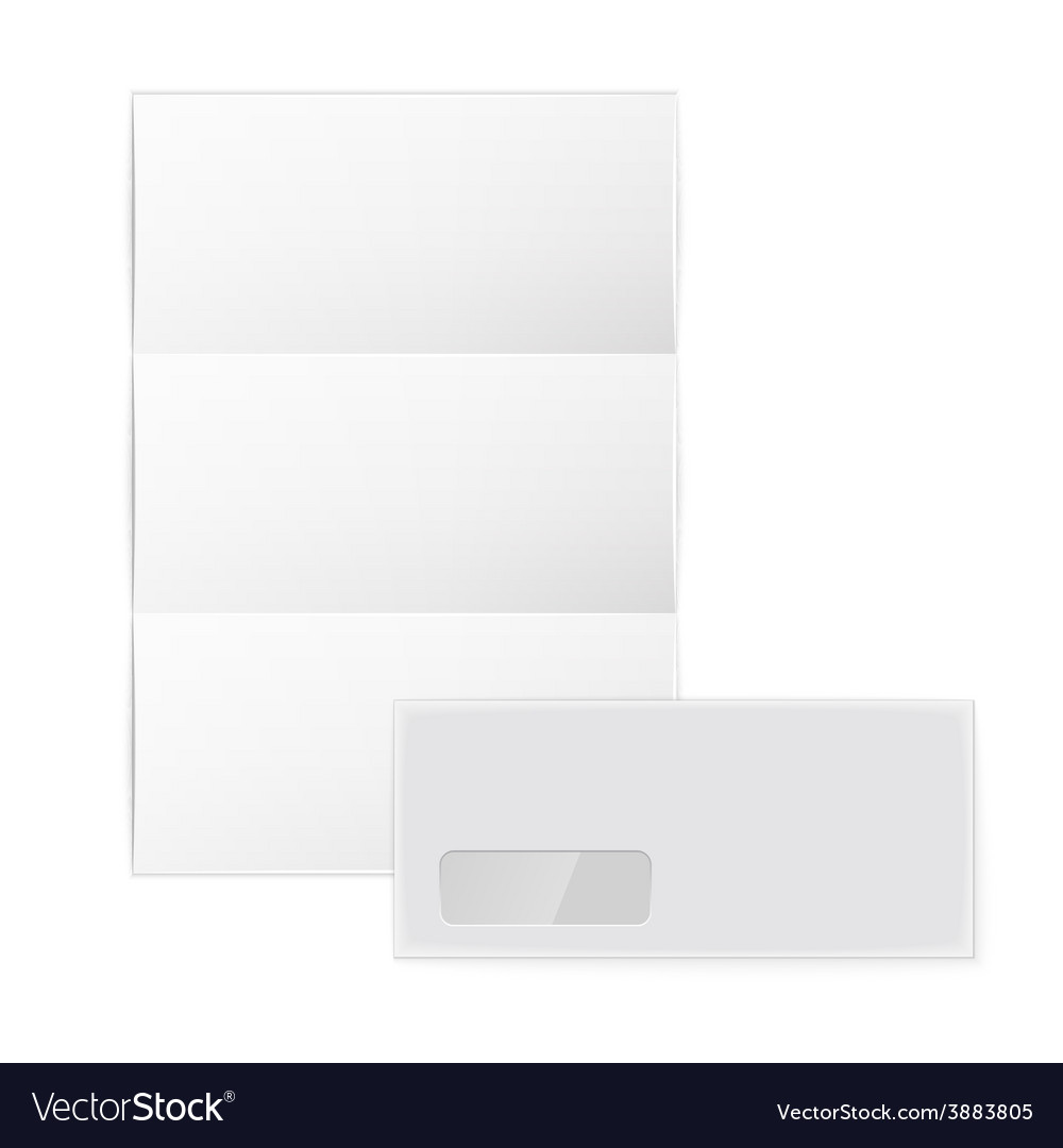 Collection of various blank white paper on white vector | Price: 1 Credit (USD $1)