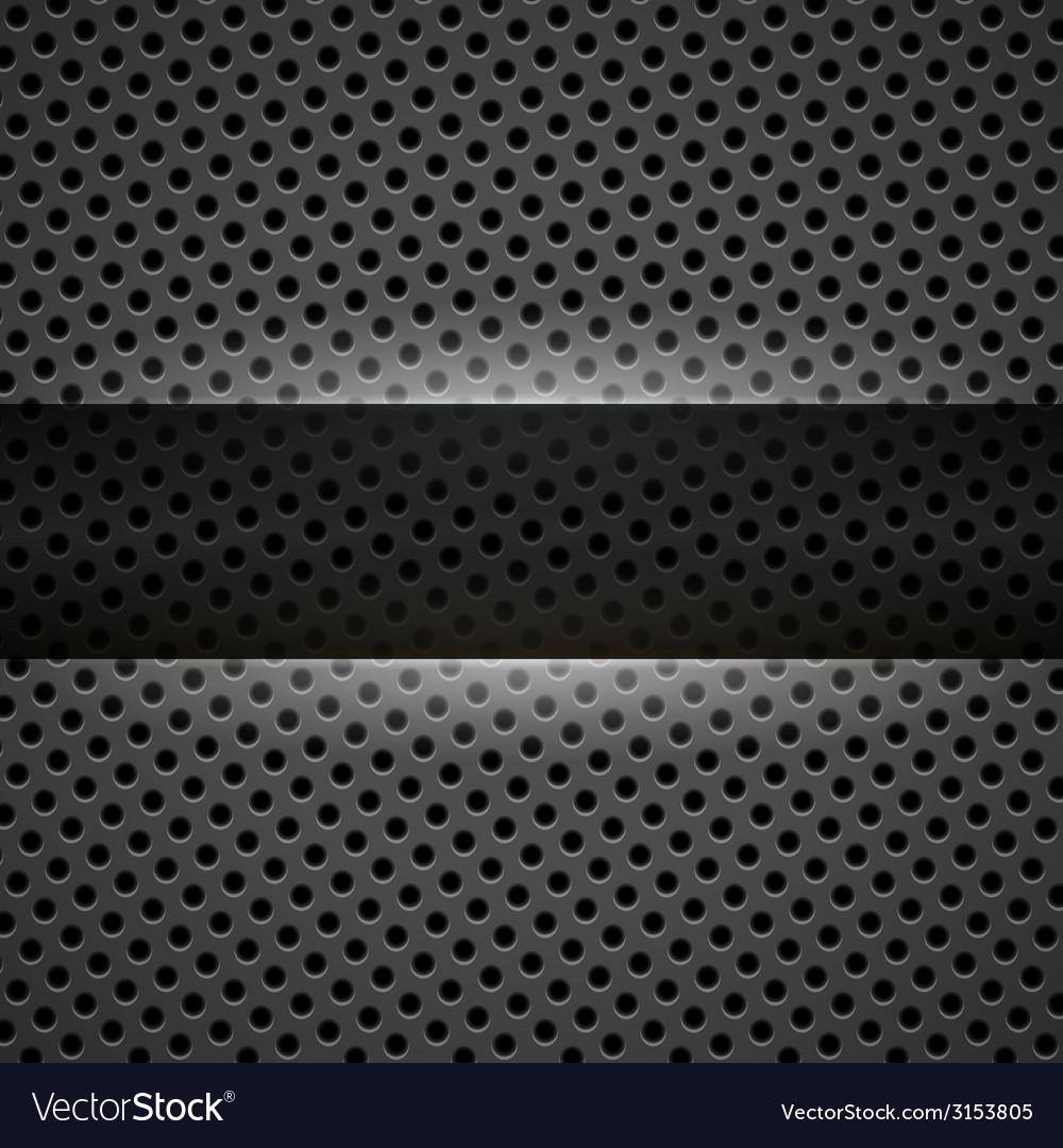 Dark gray metal background vector | Price: 1 Credit (USD $1)