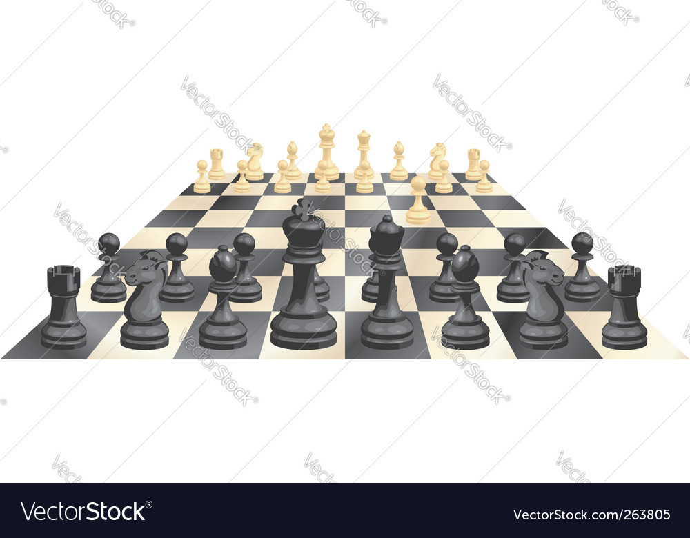 Game of chess vector | Price: 1 Credit (USD $1)