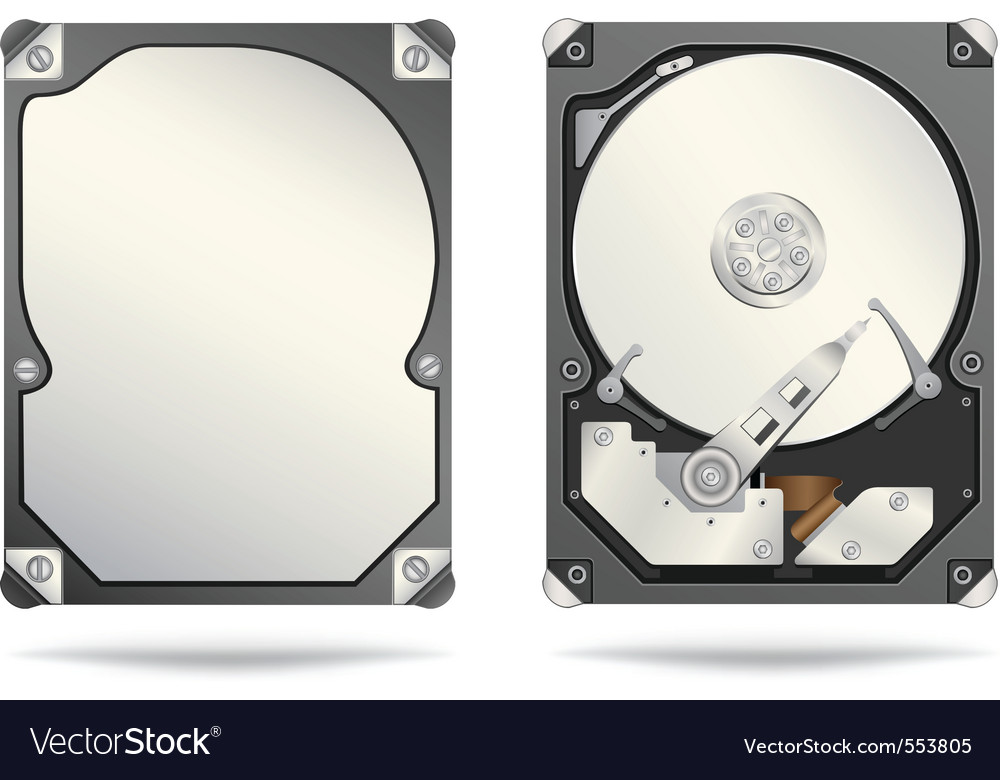 Hard drive vector | Price: 3 Credit (USD $3)