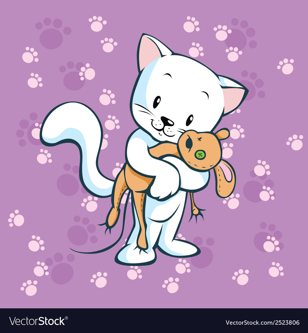 Cute kitty vector | Price: 1 Credit (USD $1)