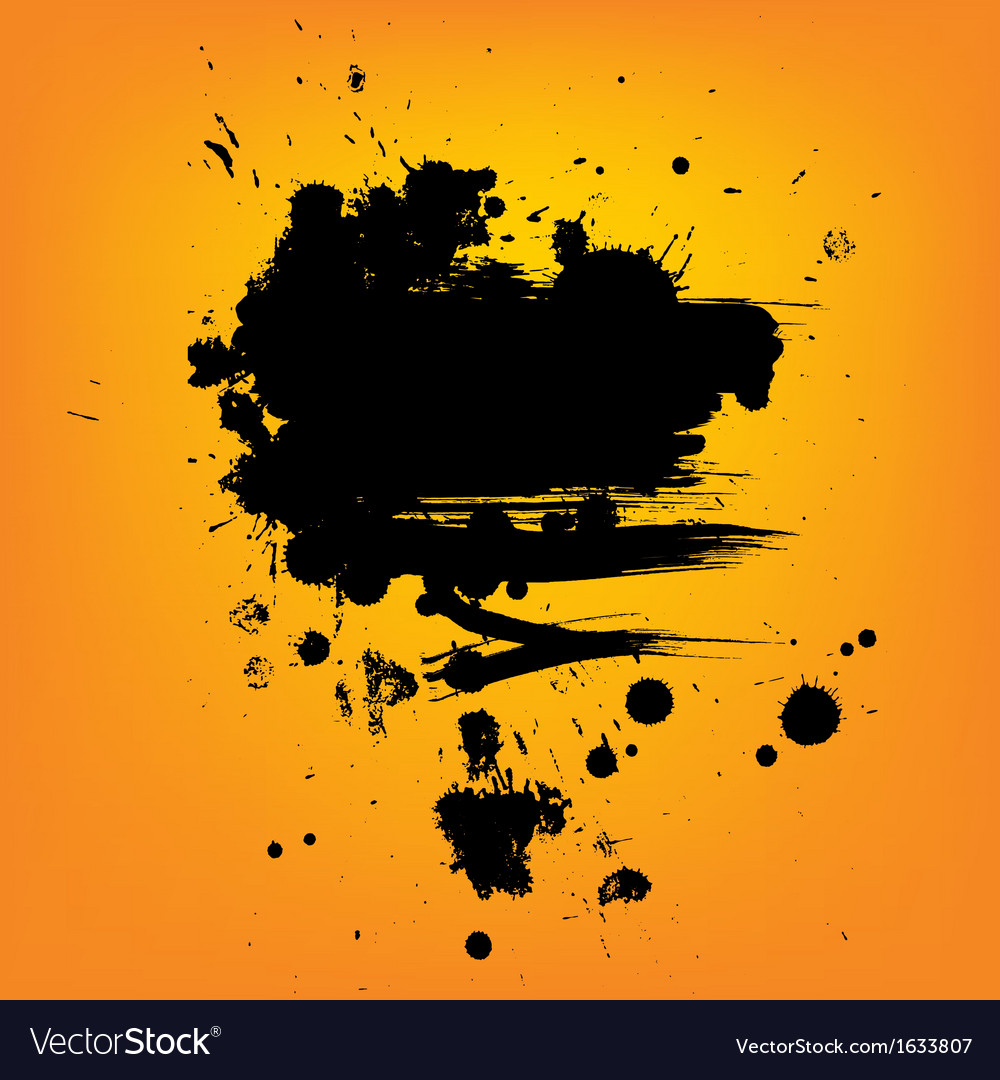 Abstract composition artistic paint banner on vector | Price: 1 Credit (USD $1)