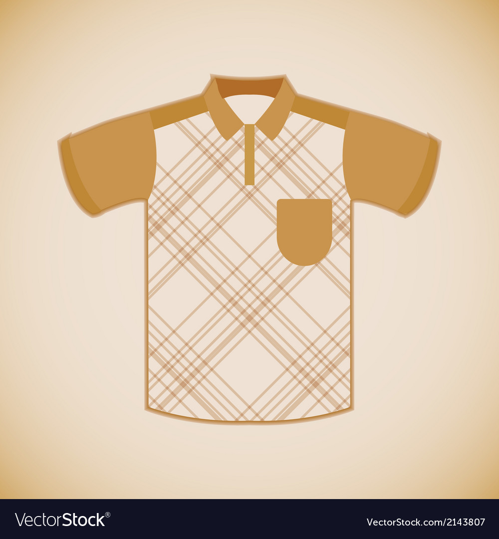 Clothing polo shirt vector | Price: 1 Credit (USD $1)