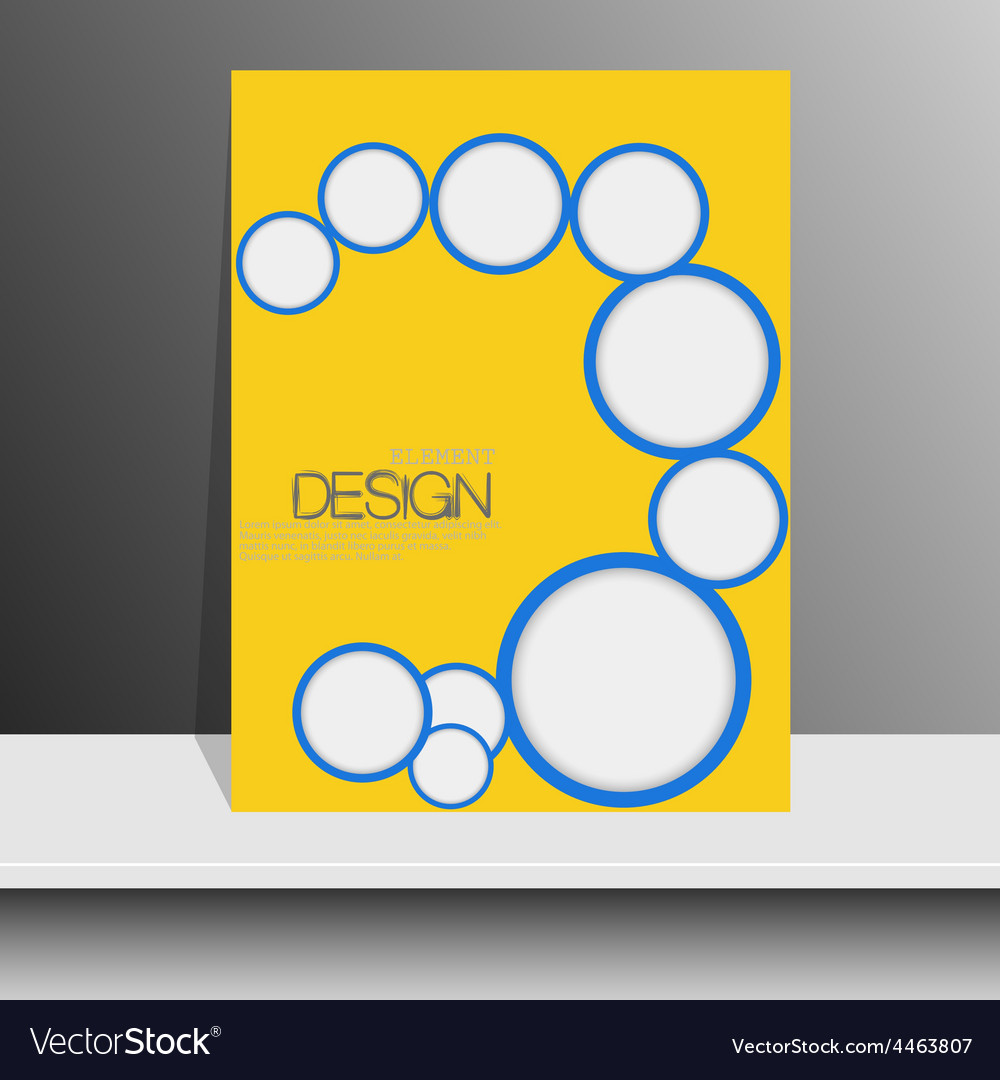 Professional flyer template or corporate banner vector | Price: 1 Credit (USD $1)
