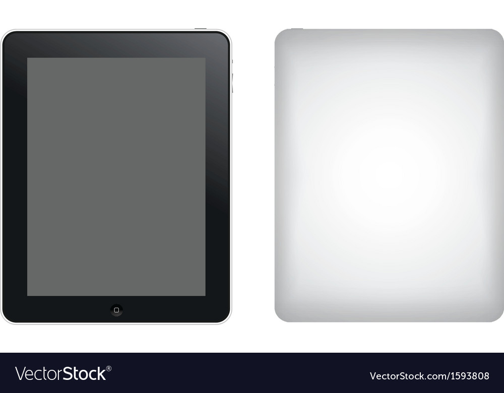 Tablet computer ipad vector | Price: 1 Credit (USD $1)