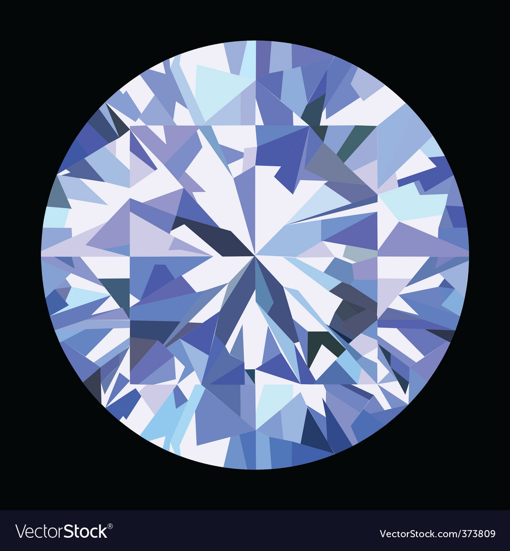 Brilliant diamond vector | Price: 1 Credit (USD $1)