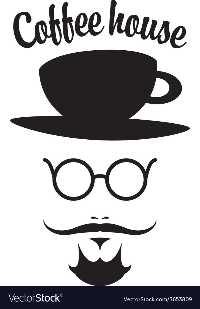 Coffee man vector | Price: 1 Credit (USD $1)