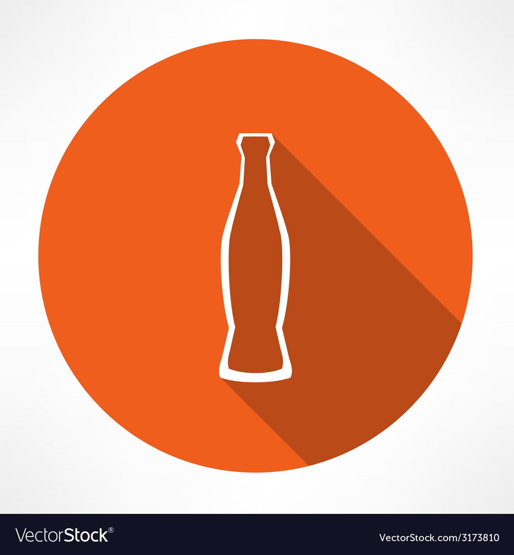 Beverage bottle vector | Price: 1 Credit (USD $1)