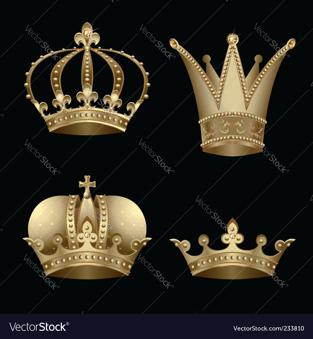 Crowns vector | Price: 3 Credit (USD $3)