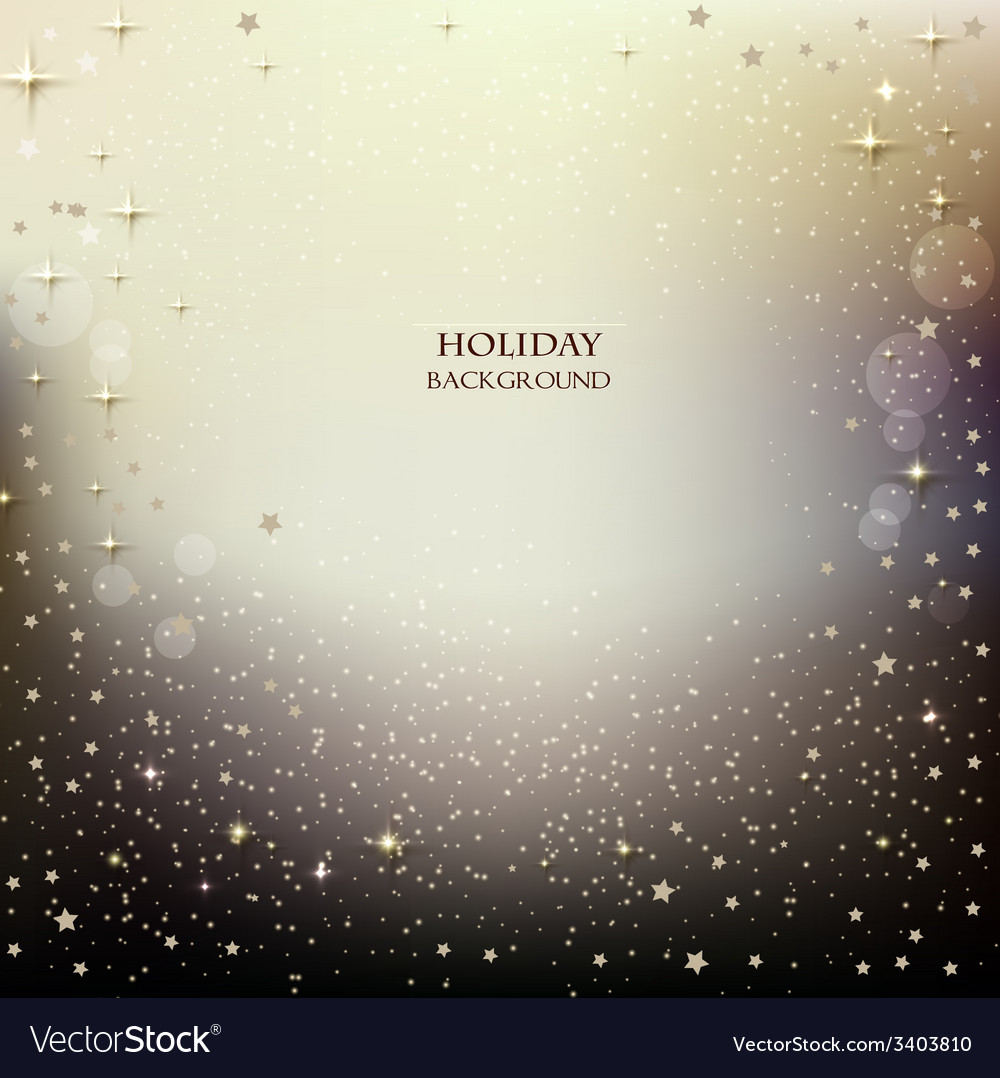 Elegant christmas background with stars vector | Price: 1 Credit (USD $1)