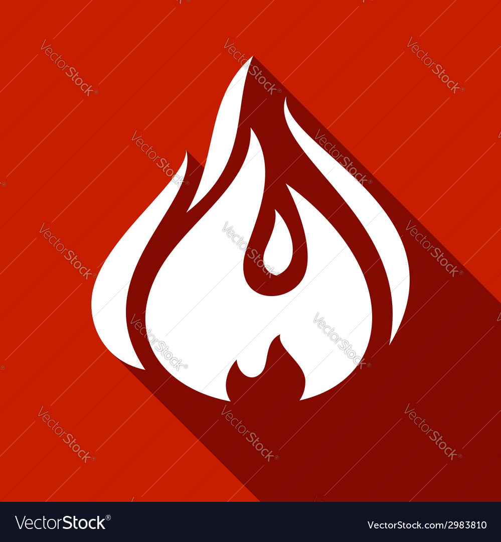 Fire flames set vector | Price: 1 Credit (USD $1)