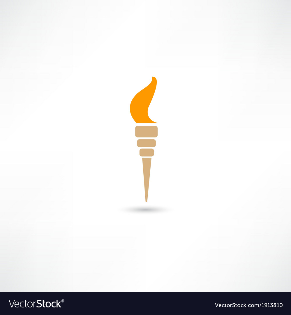 Torch vector | Price: 1 Credit (USD $1)