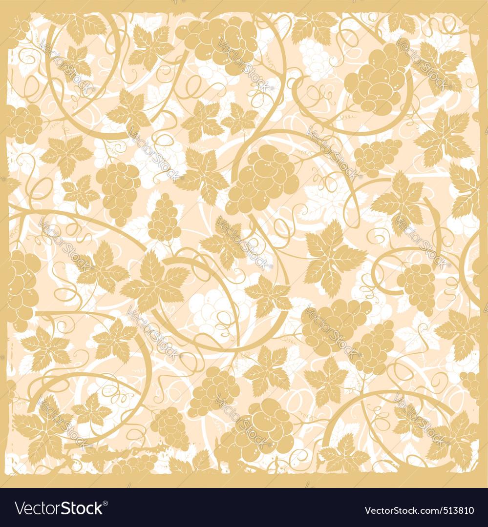 Vine background vector | Price: 1 Credit (USD $1)