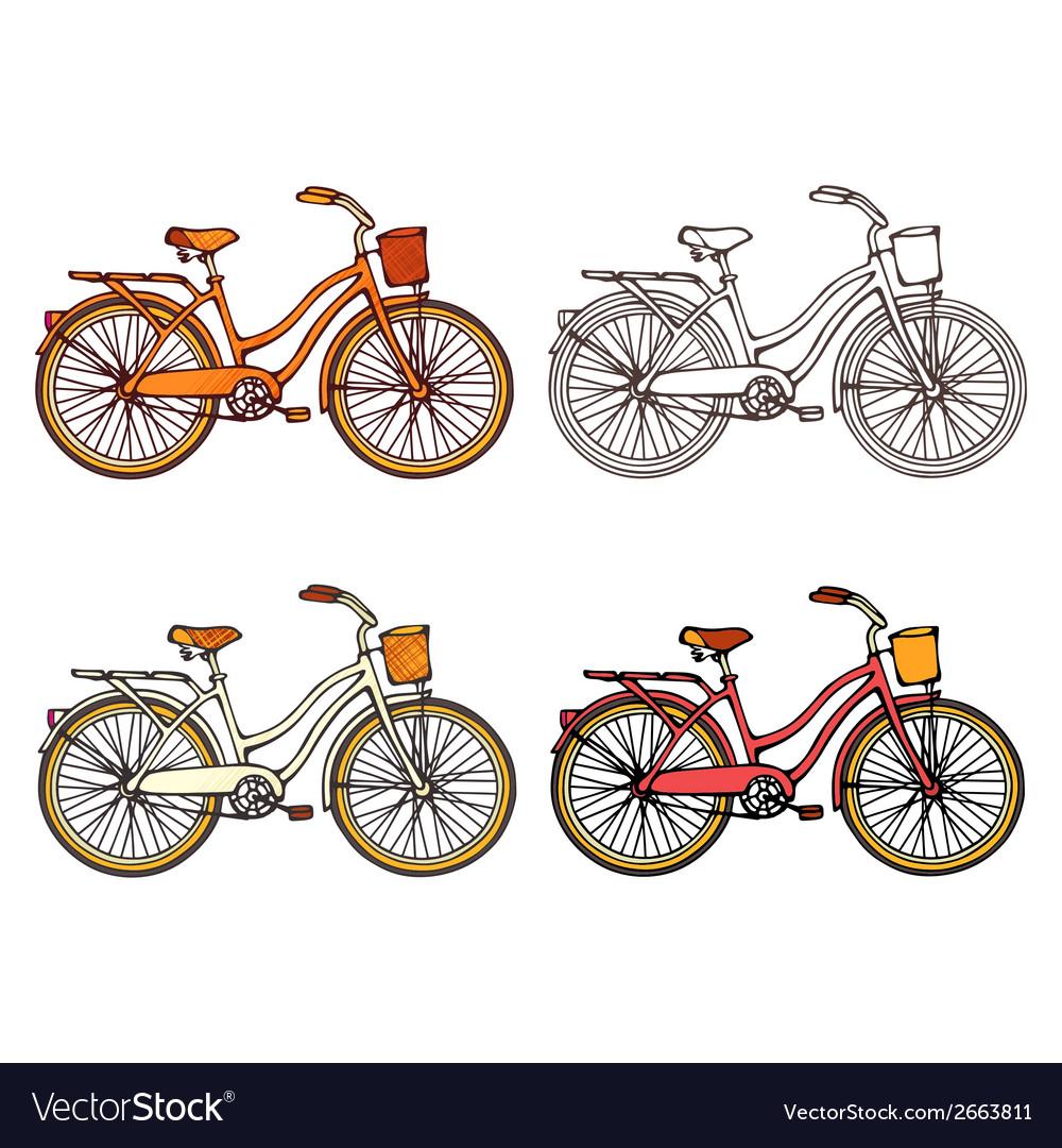Bicycles vector | Price: 1 Credit (USD $1)