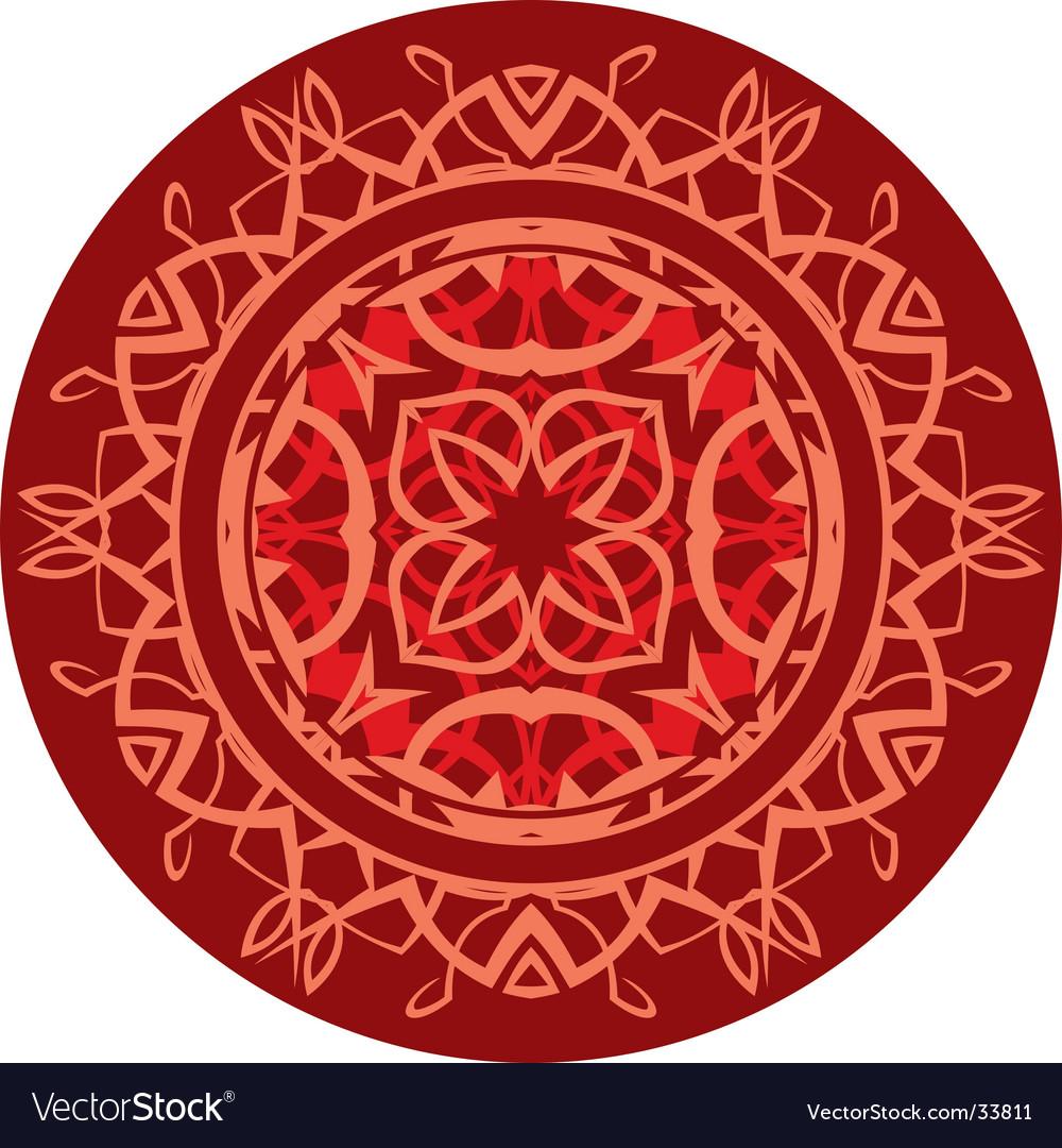 Decorative shield vector   Price: 1 Credit (USD $1)