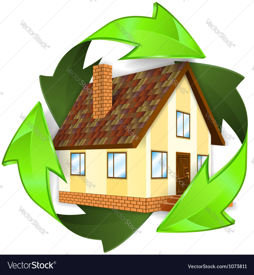 Ecological and energy saving concept vector | Price: 3 Credit (USD $3)