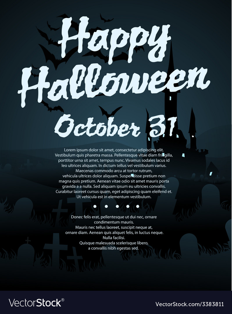 Halloween background vector | Price: 1 Credit (USD $1)