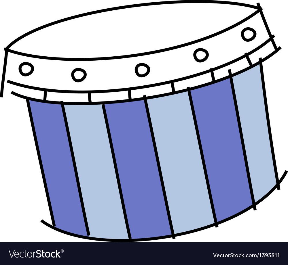 Icon drum vector | Price: 1 Credit (USD $1)