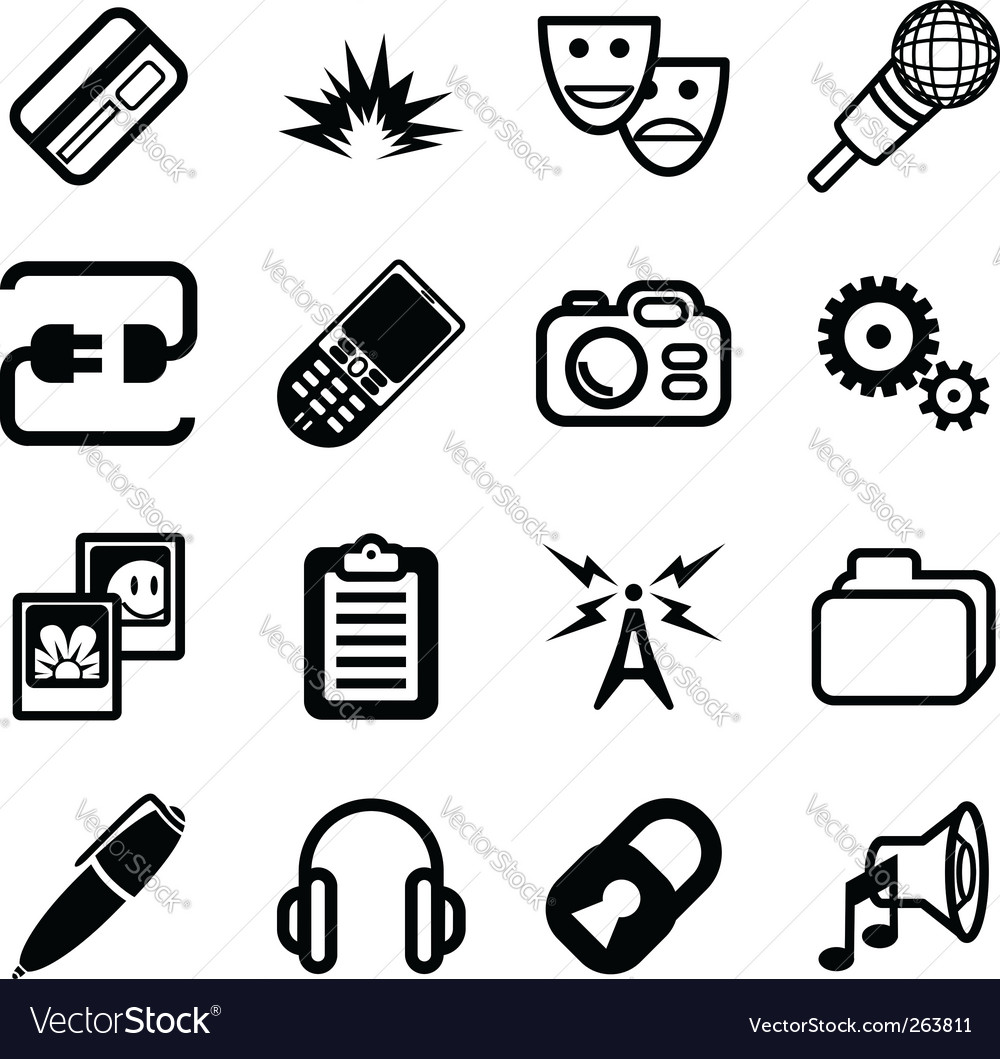 Network and computing icon vector | Price: 1 Credit (USD $1)