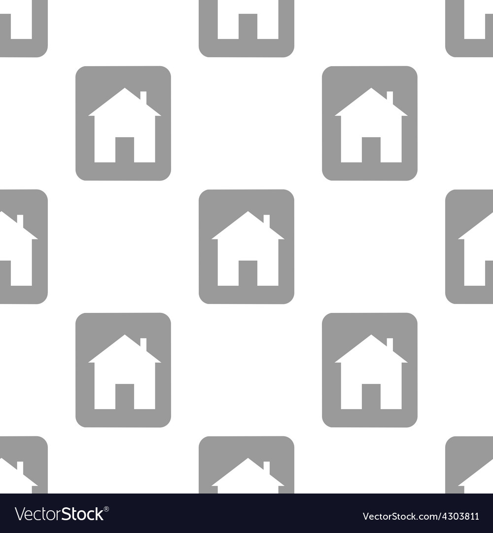 New home seamless pattern vector | Price: 1 Credit (USD $1)
