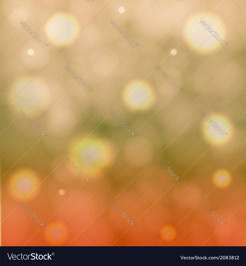 Abstract bokeh background vector | Price: 1 Credit (USD $1)