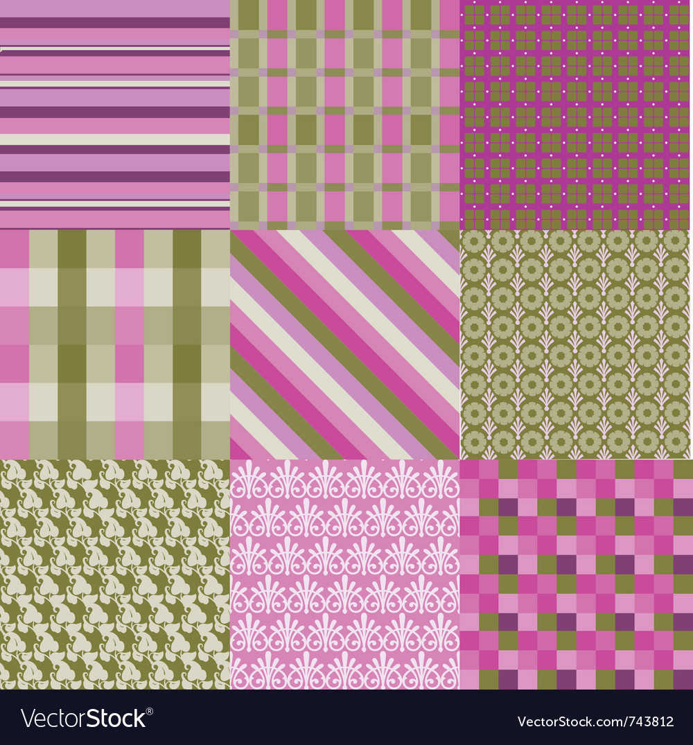 Classic patterns vector | Price: 1 Credit (USD $1)