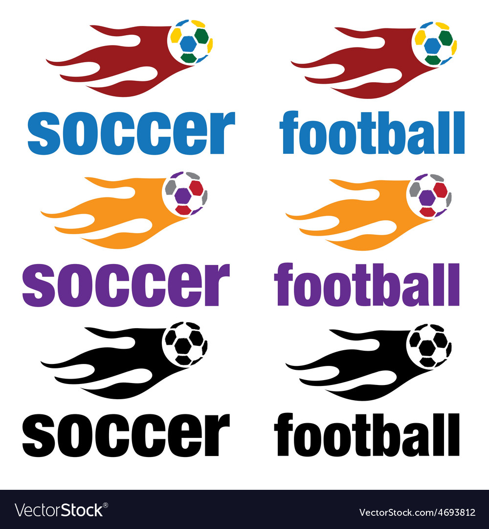 Football and soccer vector | Price: 1 Credit (USD $1)