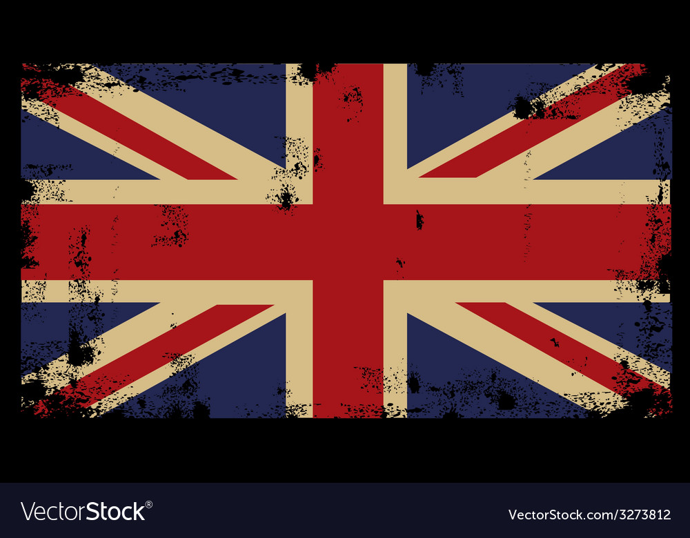 Grunge british background 2 vector | Price: 1 Credit (USD $1)