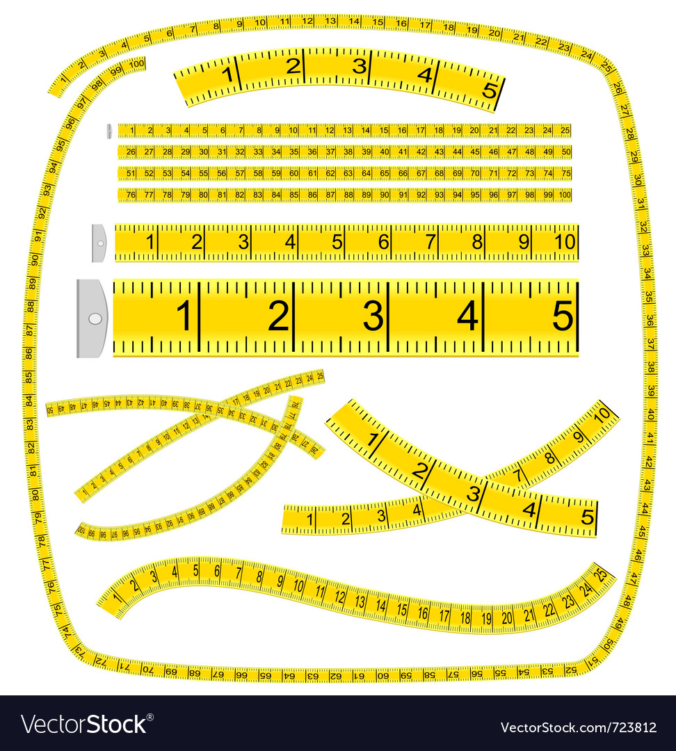 Measuring tape vector | Price: 1 Credit (USD $1)