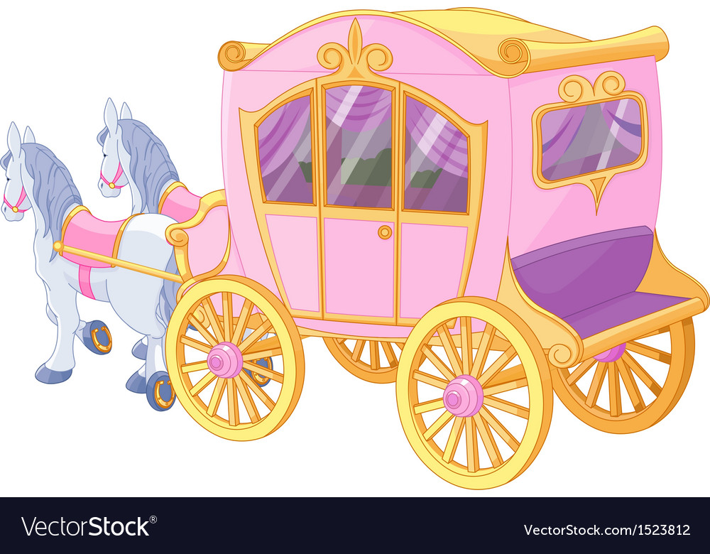 Princess carriage vector | Price: 3 Credit (USD $3)