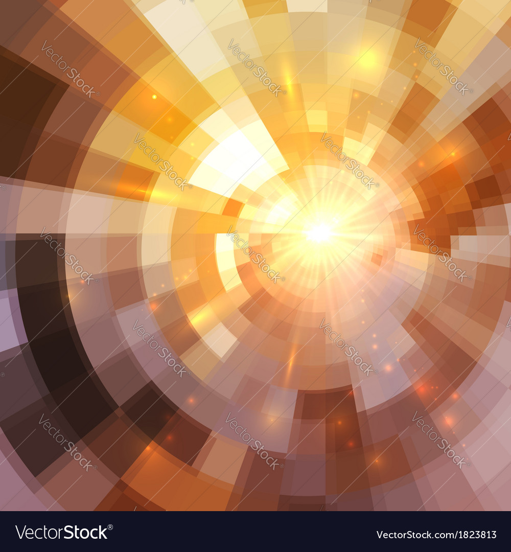 Abstract shining mosaic background vector   Price: 1 Credit (USD $1)