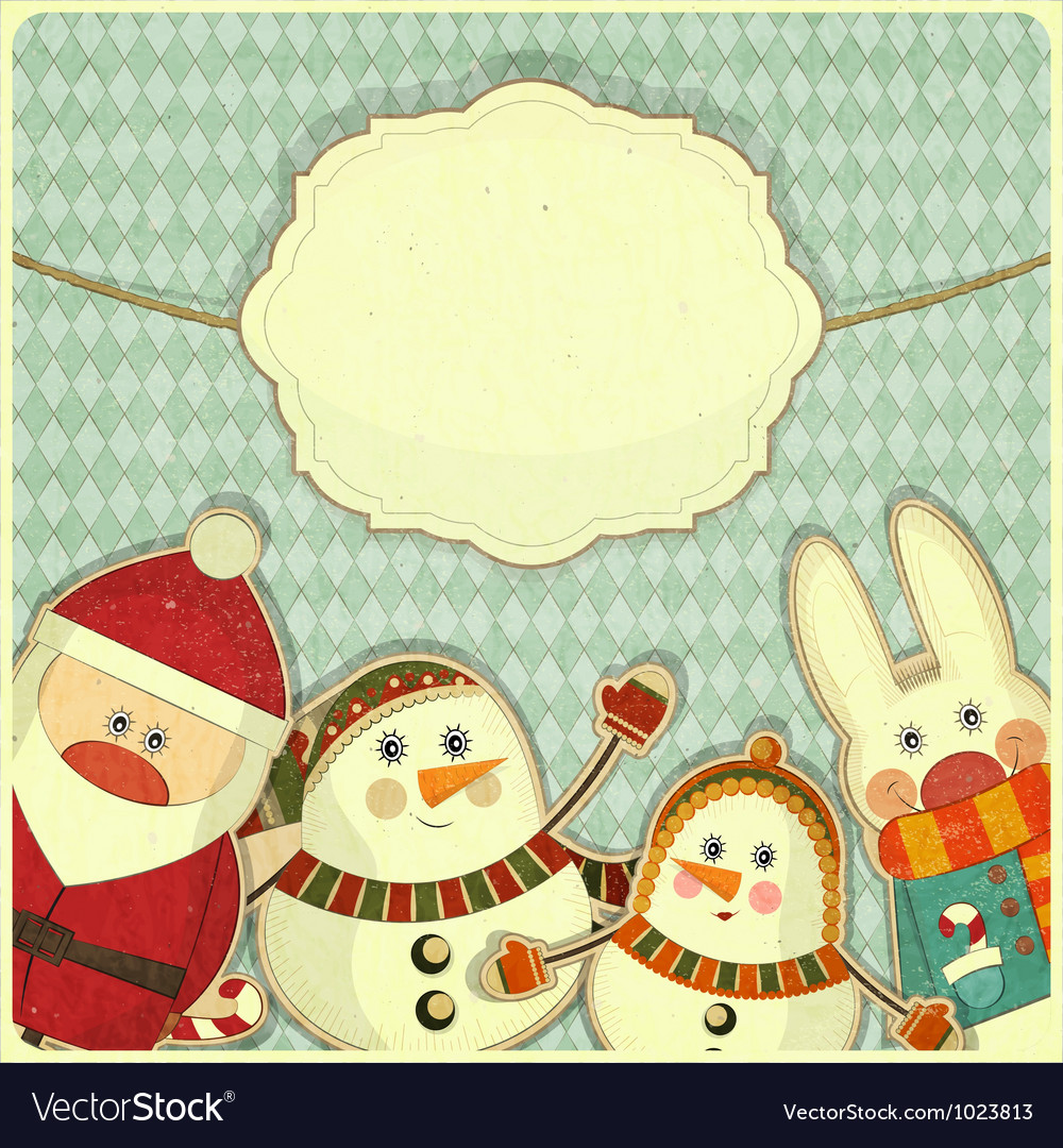 Christmas and new years card vector | Price: 1 Credit (USD $1)