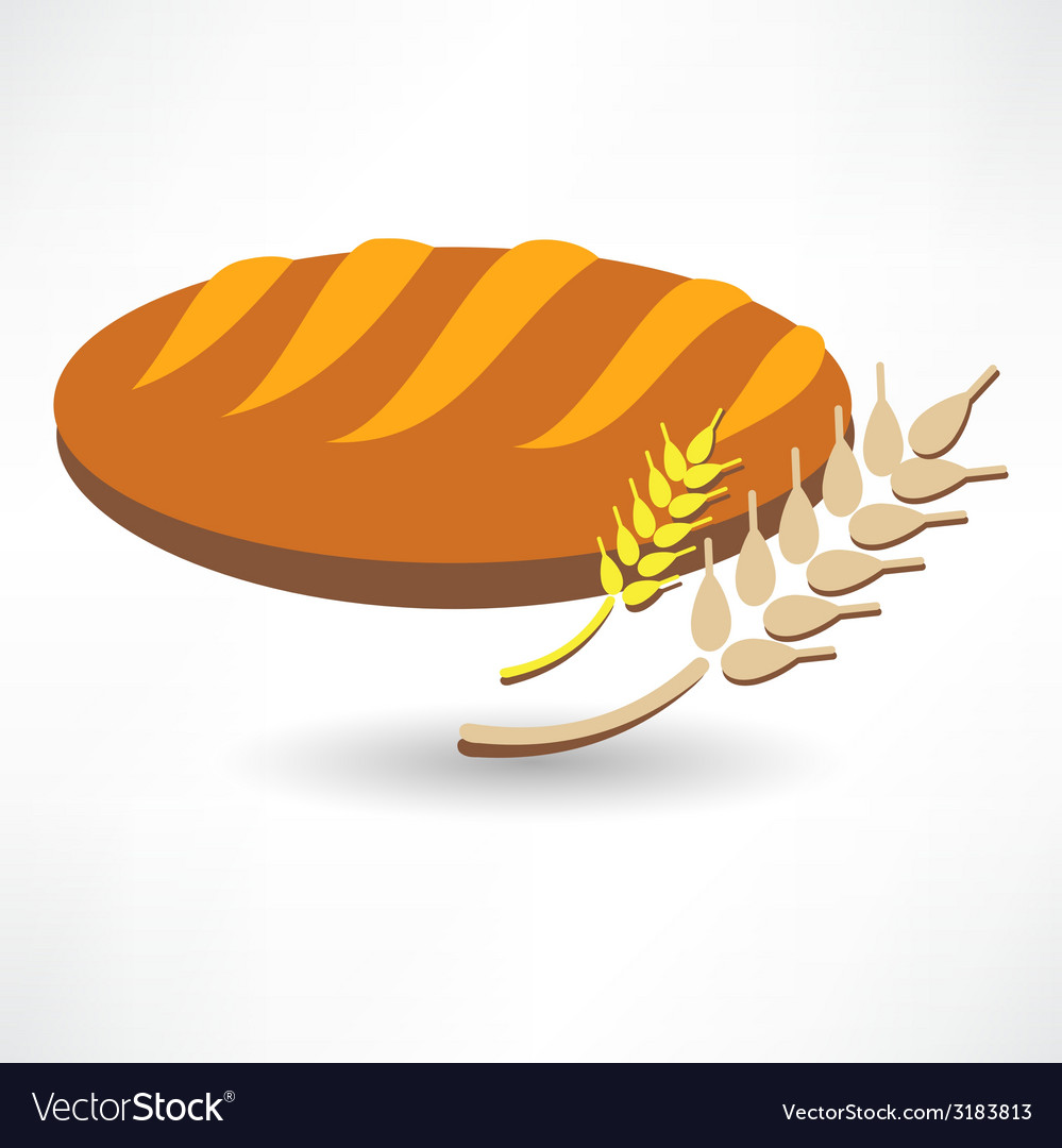 Long loaf doodle style raster version vector | Price: 1 Credit (USD $1)