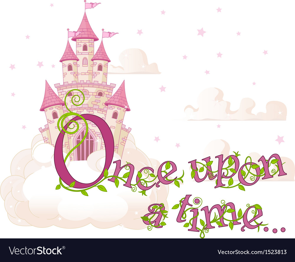 Once upon a time vector | Price: 3 Credit (USD $3)