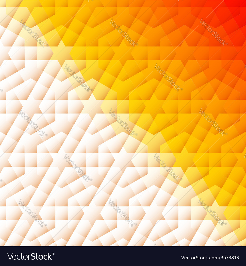 Orange and white arabic background and shadow on vector | Price: 1 Credit (USD $1)