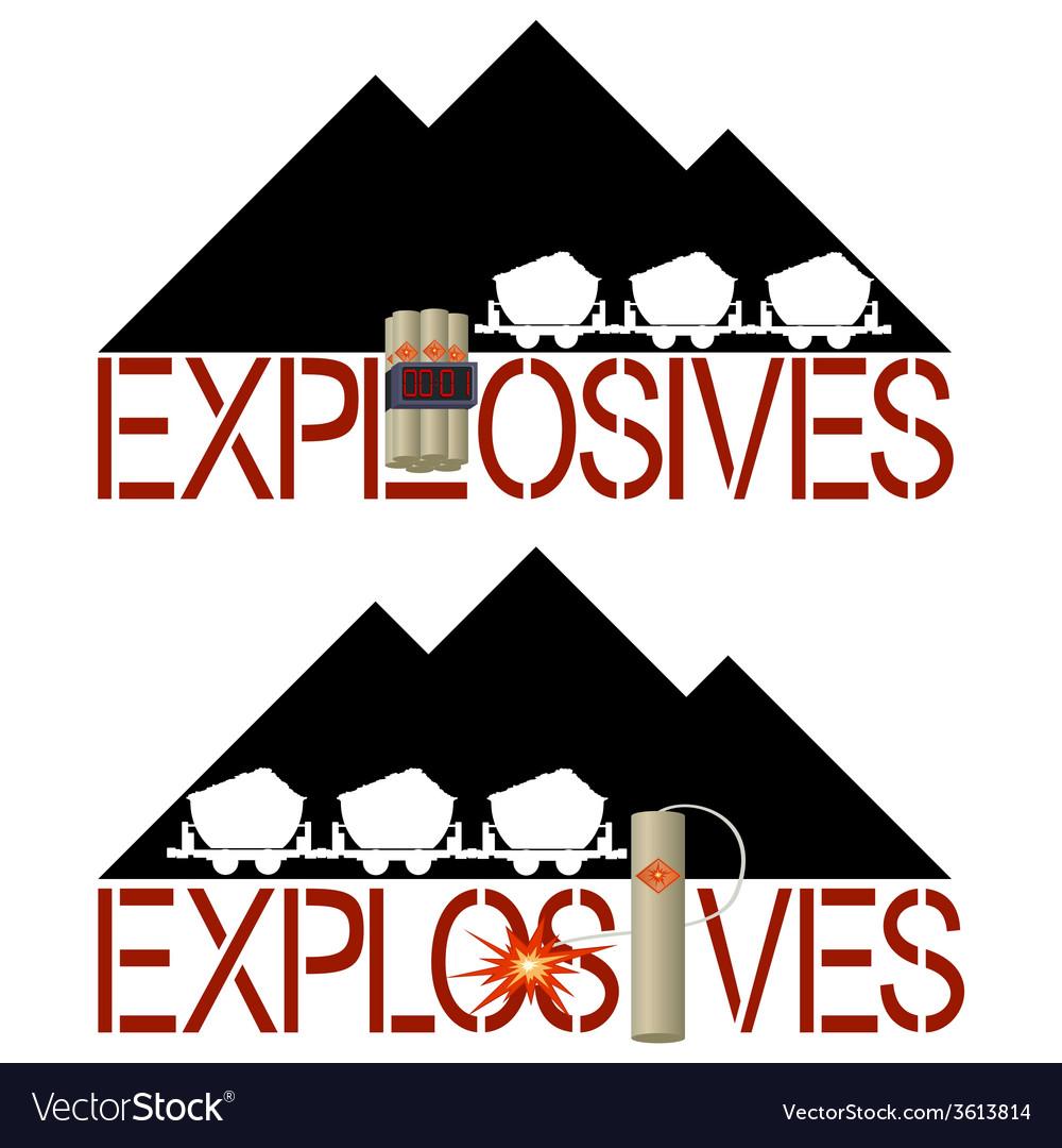 Explosives vector | Price: 1 Credit (USD $1)