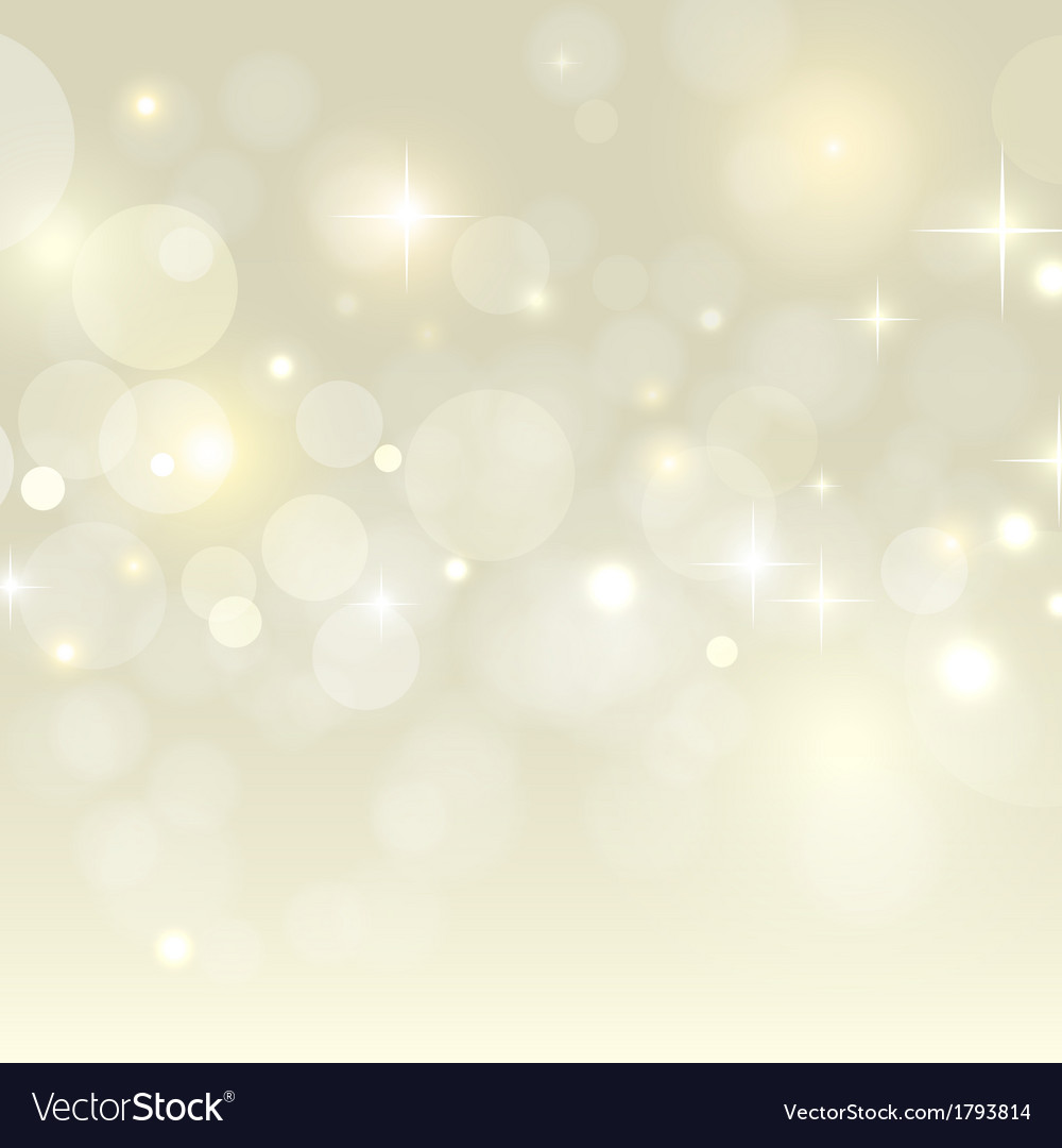 Holiday background with golden bokeh vector | Price: 1 Credit (USD $1)