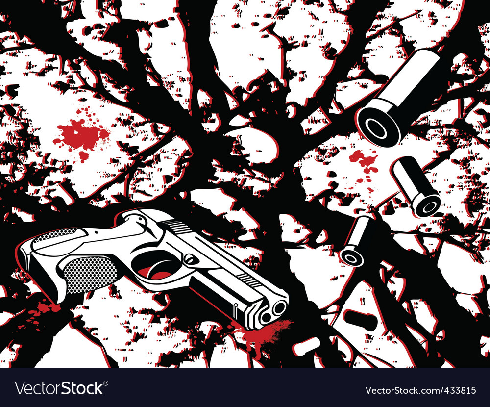 Crime city vector | Price: 1 Credit (USD $1)