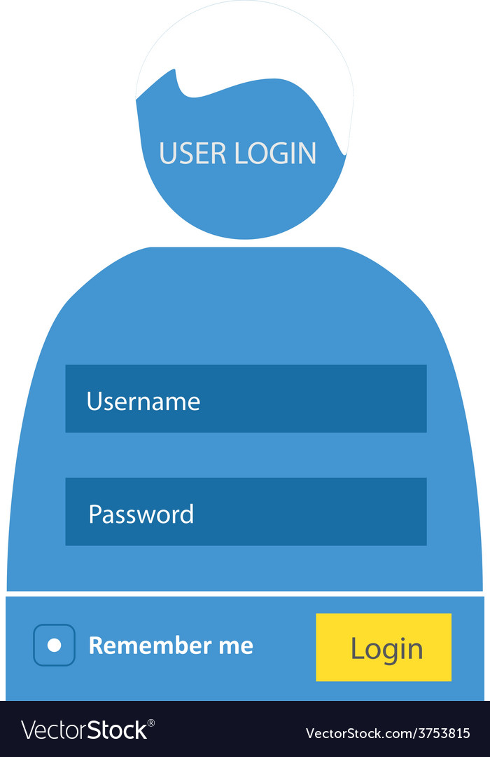 User login 52 vector | Price: 1 Credit (USD $1)
