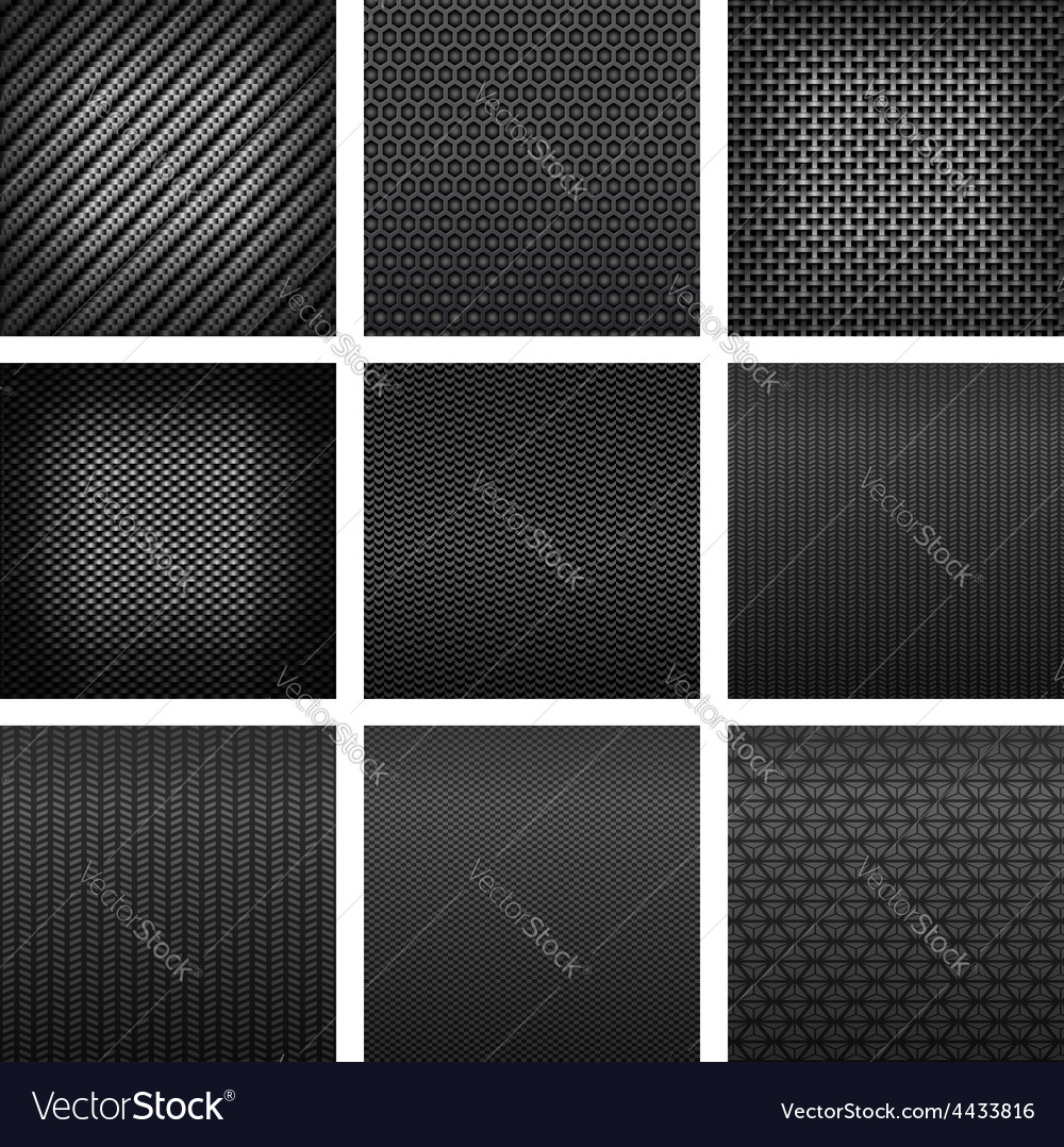 Carbon and fiber texture seamless pattern vector | Price: 1 Credit (USD $1)