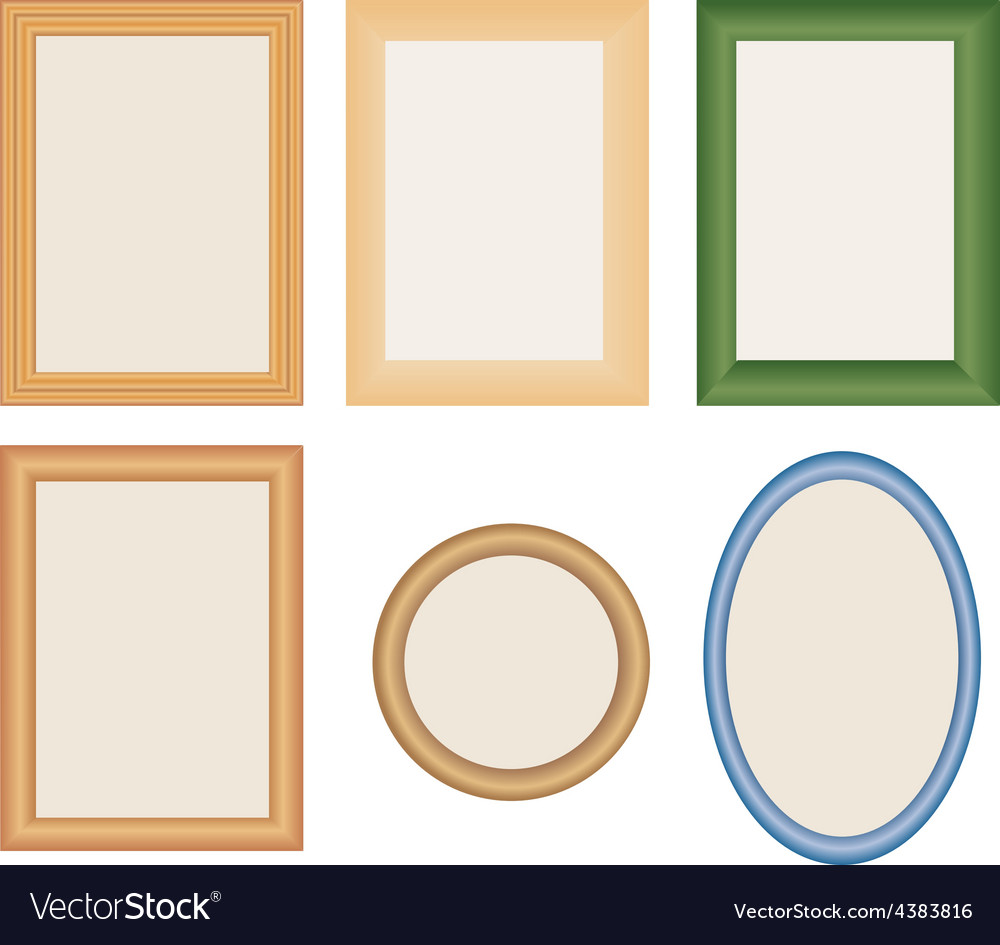 Many different photo frames vector | Price: 1 Credit (USD $1)