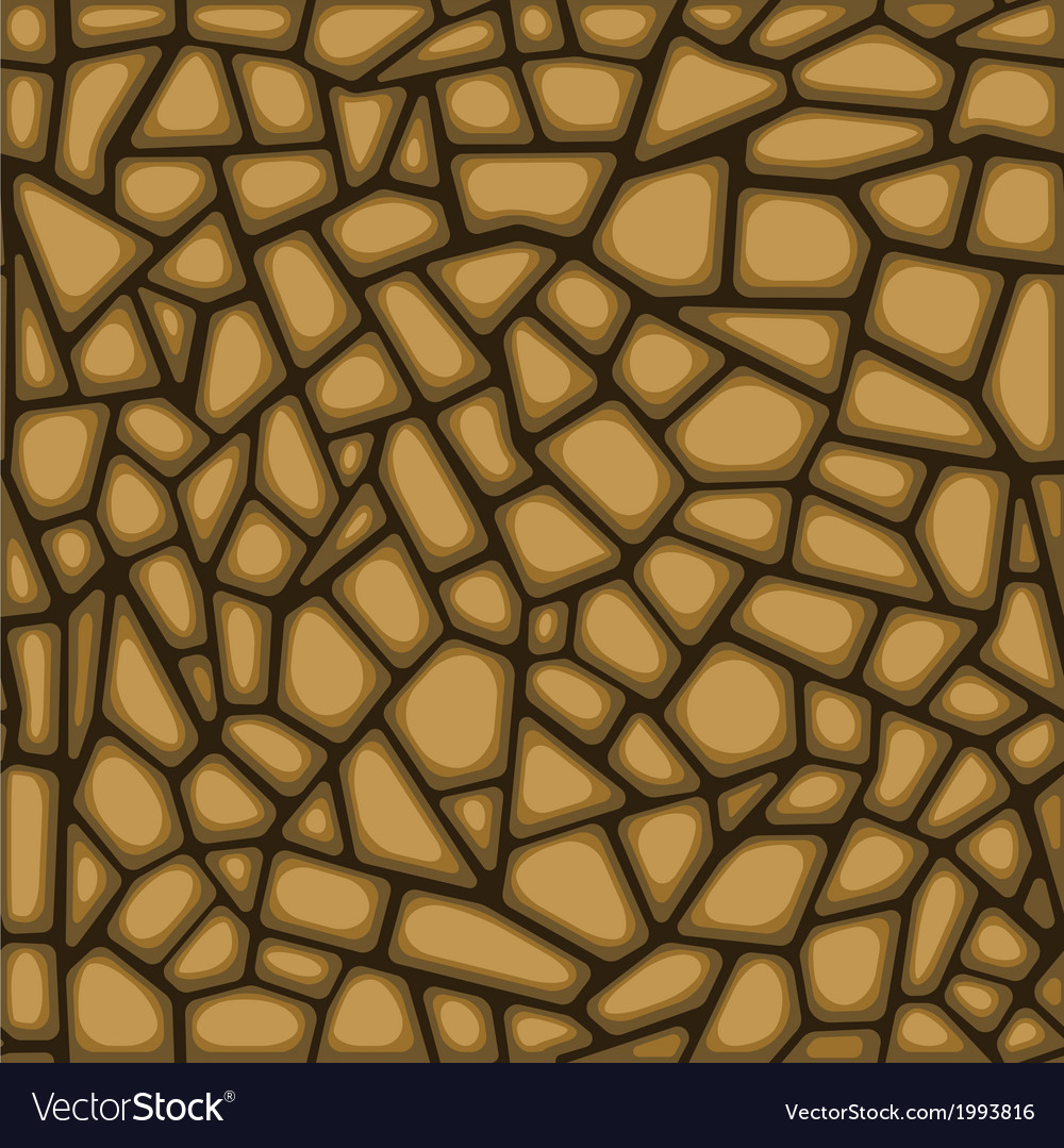 Seamless texture of stone wall vector | Price: 1 Credit (USD $1)