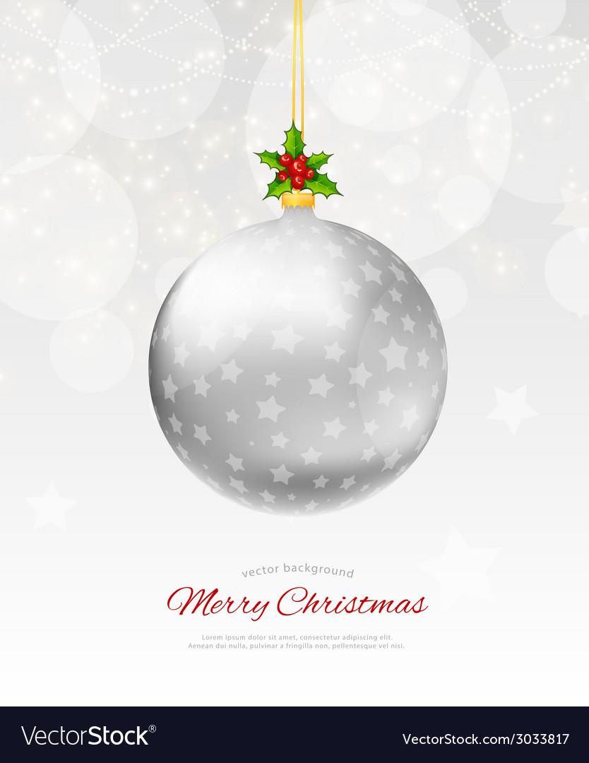 Christmas balls vector   Price: 1 Credit (USD $1)
