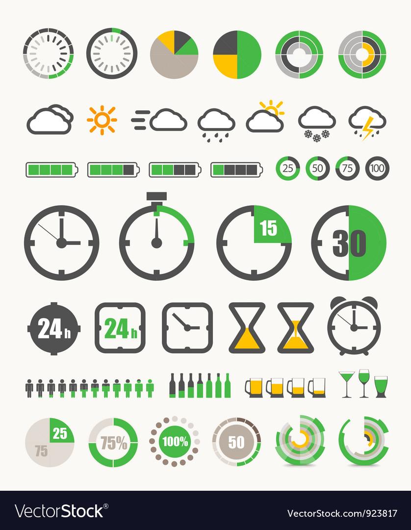 Infographic design elements vector | Price: 1 Credit (USD $1)