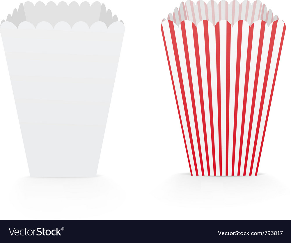 Popcorn bags vector | Price: 1 Credit (USD $1)