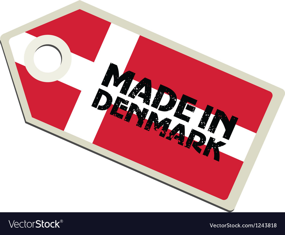 Made in denmark vector | Price: 1 Credit (USD $1)