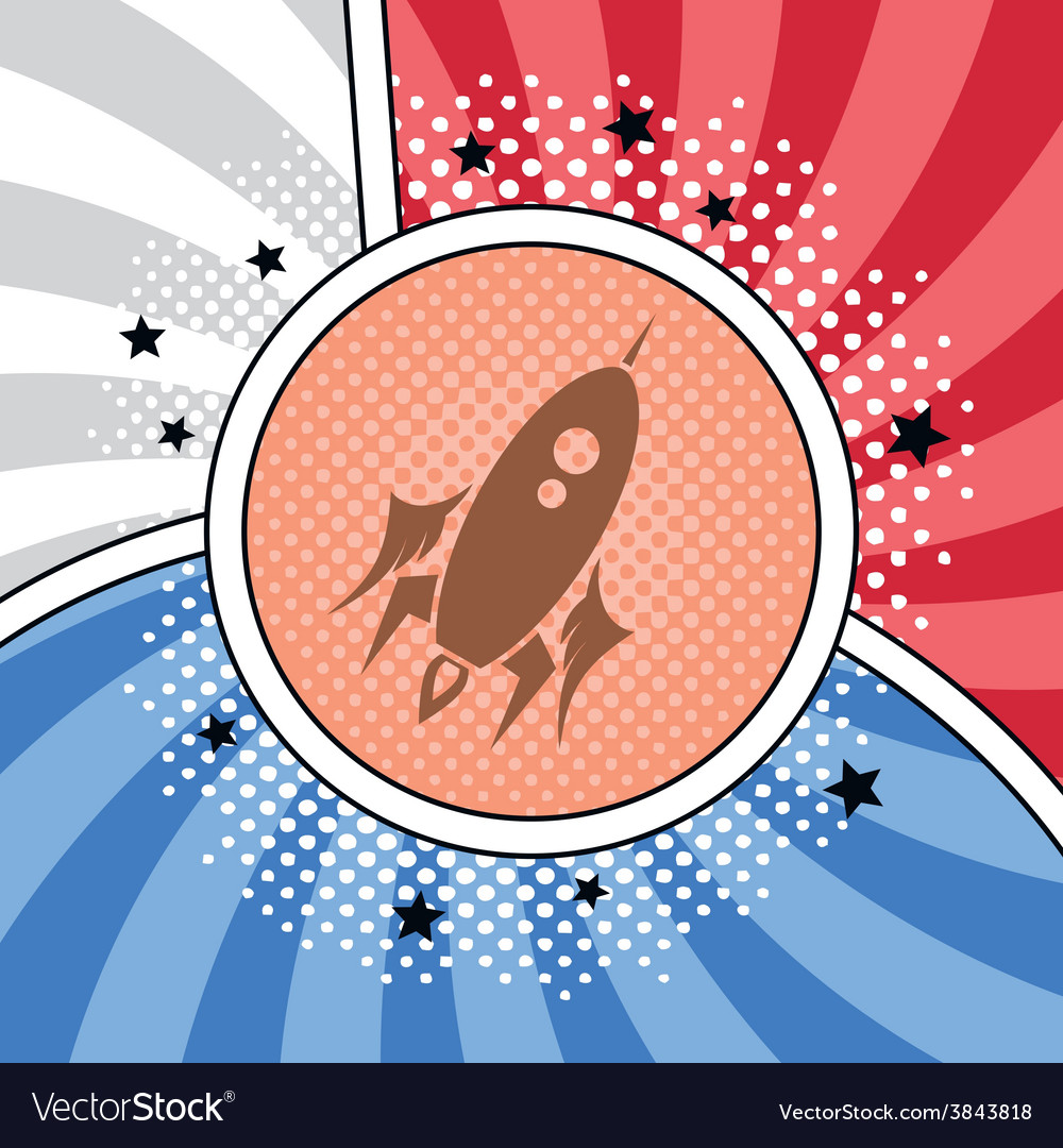 Space shuttle rocket vector | Price: 1 Credit (USD $1)