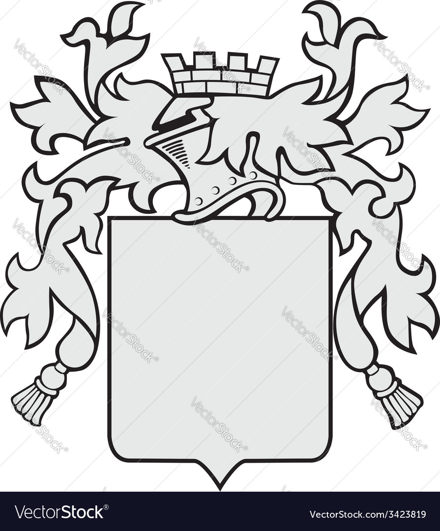 Aristocratic emblem no27 vector | Price: 1 Credit (USD $1)